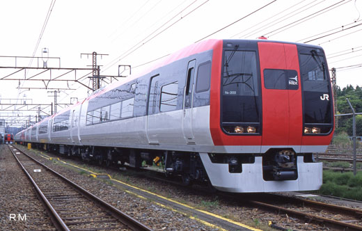 253 series trains for limited express [Narita expresses] of JR East. A 1991 debut.