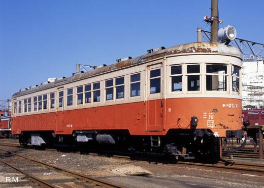 Diesel car KIHA-07 type of the Japanese National Railways. A 1935 debut.