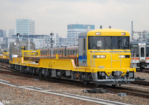 A diesel train for kiya-97 type rail transportation of Central Japan Railway. A 2008 debut.