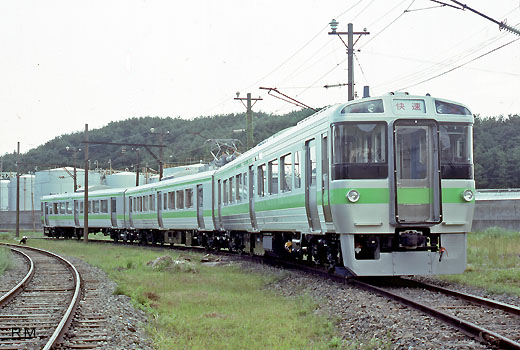 721 series of Hokkaido Railway. A suburban train around Sapporo where I appeared in 1988.