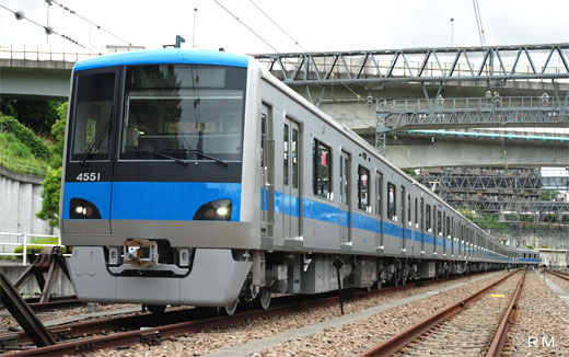 4000 types of new commuter trains of Odakyu Electric Railway.