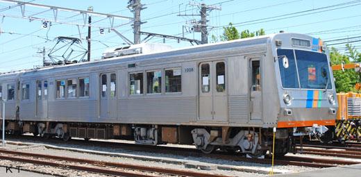 1000 types of commuter trains of Shizuoka Railway.