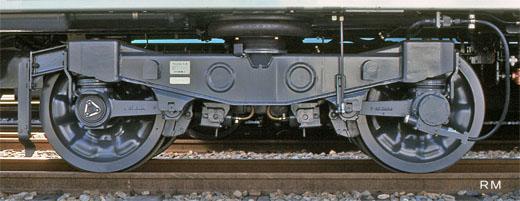 484:TR246 TR246(T台車) 軸距:2100㎜ 車輪:860㎜ 軌間:1067...