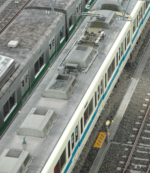 デハ9407の屋根2