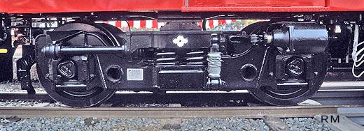 165:FS538M台車