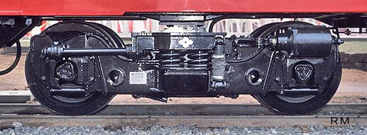 165:FS538T台車