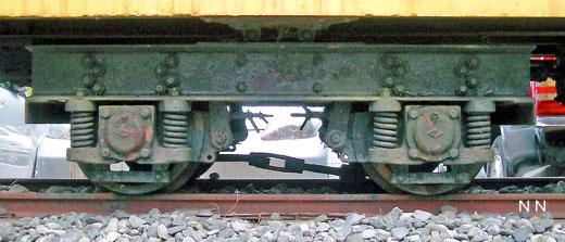 287:千頭森林鉄道客車用台車