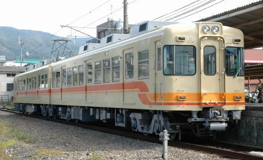 伊予鉄クハ851