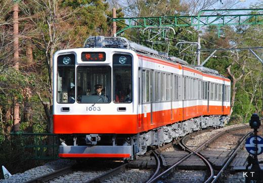 1000 type [Bernina] of Hakone Tozan Railway. A 1981 debut.