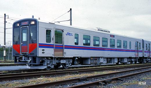 Diesel car for Sanin Line of West Japan Railway, the kiha-126 series. A 2000 debut.