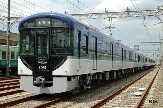 3000 series [Comfort Saloon] of Keihan Electric Railway. A 2008 debut.