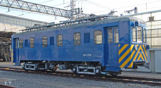 A switcher of Keihan Electric Railway Neyagawa factory(Former No.72)