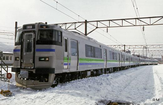 201 series rail diesel cars of Hokkaido Railway. A 1997 debut.