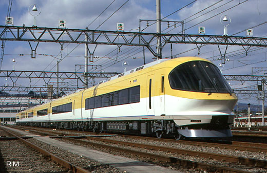 23000 type limited express train [Ise-Shima Liner] of Kinki Nippon Railway. A 1994 debut.