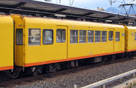 140type of Sangi Railway. Mie Kotsu produced it in 1960.