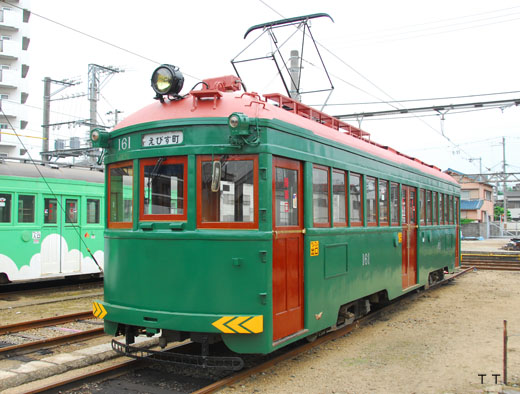 MO161type of the Hankai trolley line. A 1928 debut.