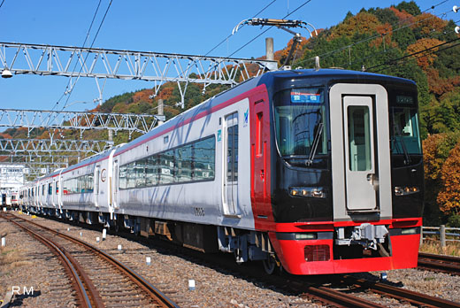 1700 limited express train series of Nagoya Railroad. 2008 remodeling.