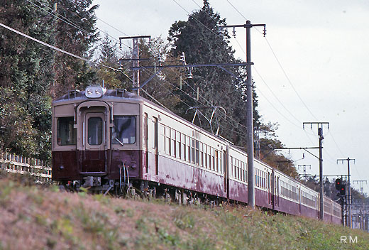 A limited express train of Tobu Railway where I appeared in 1951, 5700 series.
