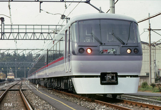 10000 limited express train series of Seibu Railway. A 1993 debut.
