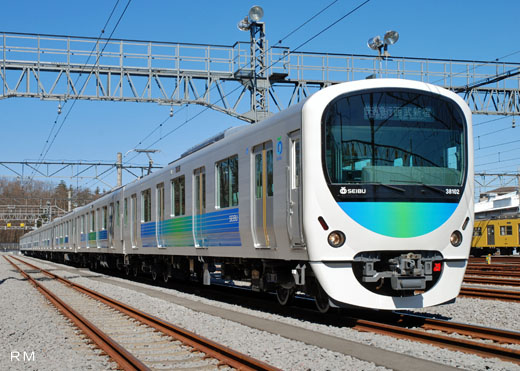 西武30000系「Smile Train」|台車近影|鉄道ホビダス