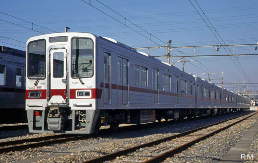 3000 series commuter trains of Tobu Railway. A 1997 debut.