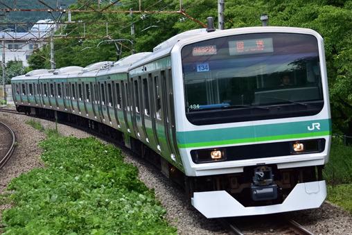 JR東】E231系 マト134編成長野出場   鉄道ホビダス