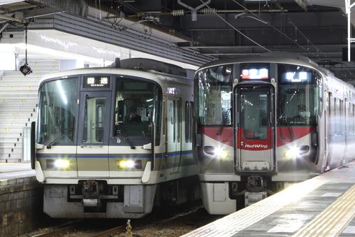 JR西】221系C3編成 下関へ回送 | 鉄道ホビダス